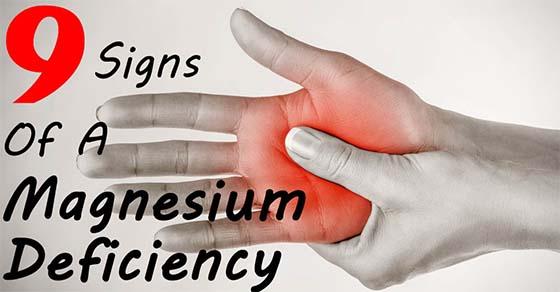 , 9 signos de que tienes una deficiencia de magnesio, Alimenta y Cura