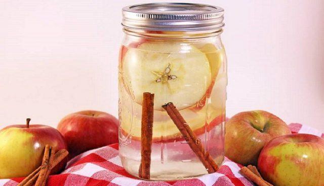 , Agua de canela, manzana y limón para perder peso ¡Muy saludable!, Alimenta y Cura