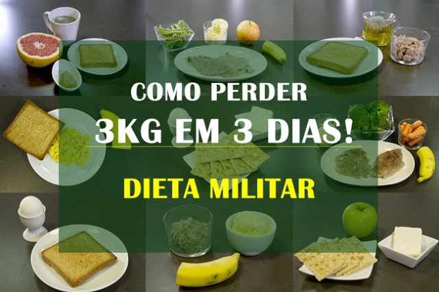 , LA DIETA MILITAR, PIERDE 3 KILOS EN 3 DÍAS. ENTRA AQUÍ Y CONOCELA., Alimenta y Cura