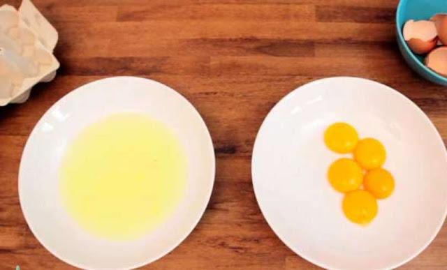 , ¡La forma más ingeniosa de separar la clara de la yema! No más líos en la cocina., Alimenta y Cura