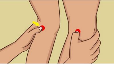 , Si se frota Estos 2 puntos detrás de las rodillas, Esto es lo que sucede con su Cuerpo, Alimenta y Cura