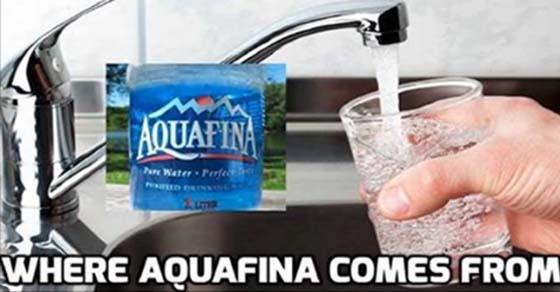 Pepsi admite que su agua embotellada aquafina es simplemente agua del grifo dasani de coca cola - Agua del grifo o embotellada ...