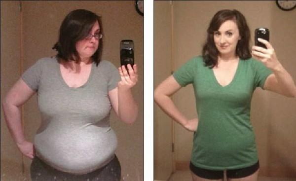 , Ella perdió 90 libras en un año Al hacer estos 3 cambios!, Alimenta y Cura