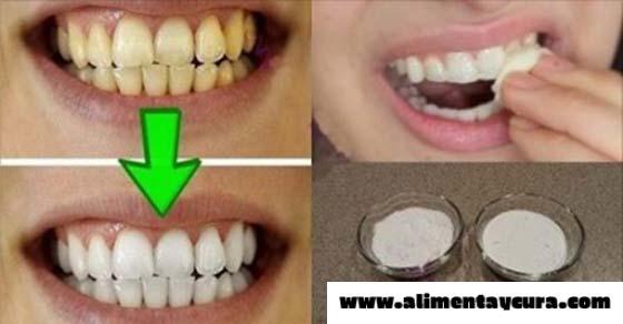 , Garantizado, tus dientes se blanquean en menos de 2 minutos!, Alimenta y Cura