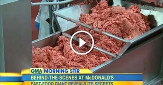 , McDonald's finalmente admite lo que hay dentro de sus así llamadas «hamburguesas» ¡Asco!, Alimenta y Cura