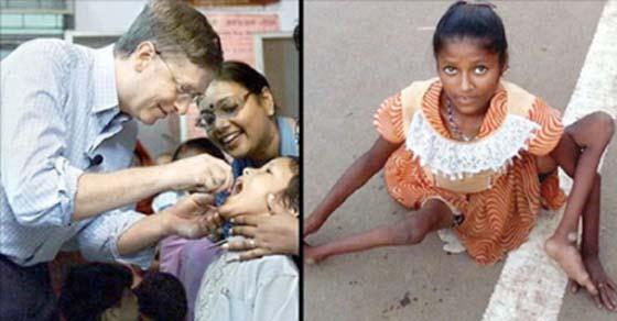 , Médicos indios demandan a Bill Gates por herir a niños con vacunas humanitarias mortales, Alimenta y Cura