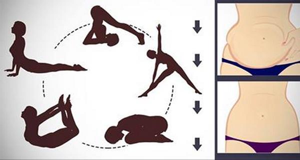 , Sigue Estas 5 Posturas De Yoga Para Reducir La Grasa Obstinada Del Vientre En Poco Tiempo ¡El Resultado Te Encantará!, Alimenta y Cura, Alimenta y Cura