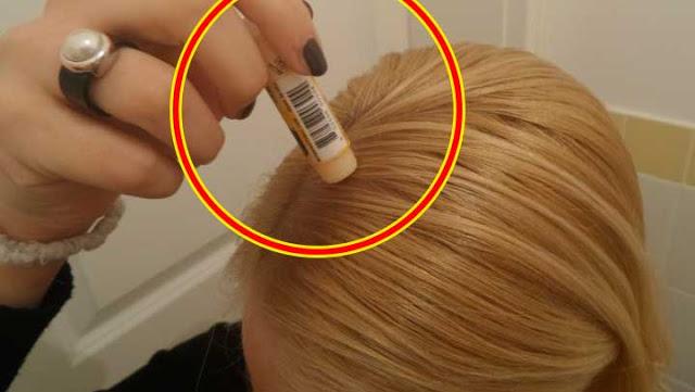 , Nunca lo entenderás hasta que no lo aplique en tu cabello, pon humectante de labios y los sabrás., Alimenta y Cura