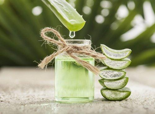 tratamiento de aloe vera y vitamina E
