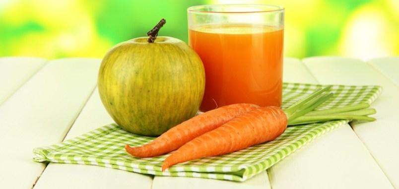 zanahoria manzana, lino