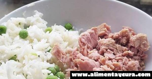 , DIETA DEL ATÚN Y EL ARROZ: Adelgaza 3 kilos en 6 días comiendo delicioso!, Alimenta y Cura