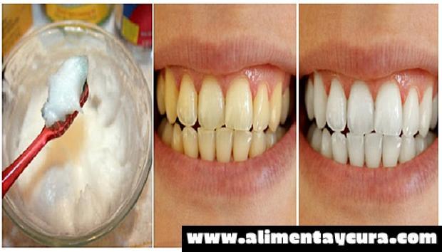 Aprende un método para blanquear los dientes usando sólo un ingrediente