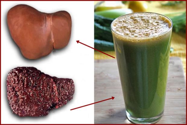 Receta natural para liberar tu hígado