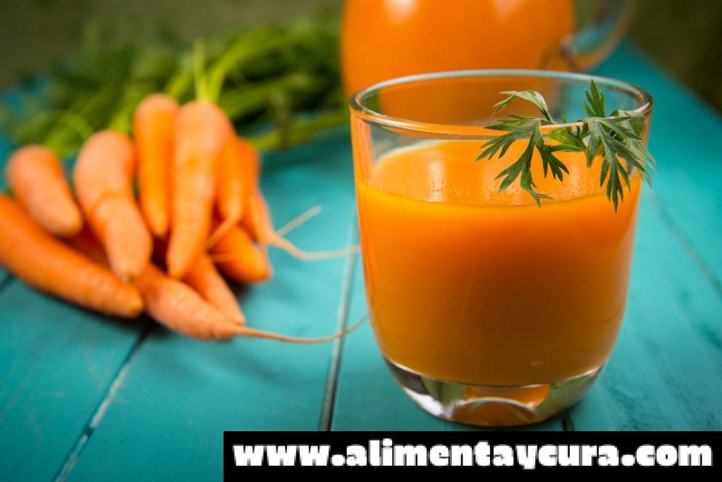 , Zanahoria y ajo para evitar el agotamiento, Alimenta y Cura