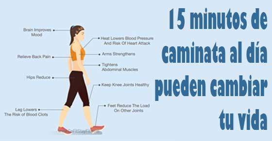 , Cómo 15 minutos de caminar por día puede cambiar su cuerpo, Alimenta y Cura