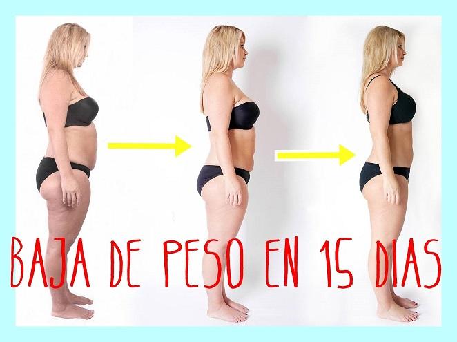 , Cómo bajar de peso en 15 días en cinco sencillos pasos, Alimenta y Cura