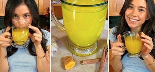 , Con este té se puede eliminar la grasa acumulada en el abdomen y terminar con los gases!, Alimenta y Cura