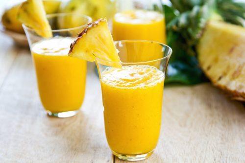 , Cómo combatir el resfriado y la inflamación con un batido de piña, jengibre y cúrcuma, Alimenta y Cura, Alimenta y Cura