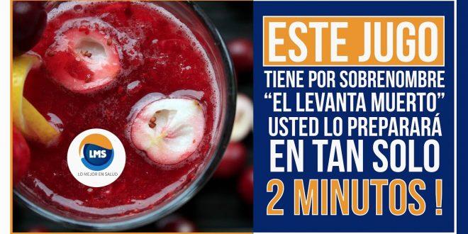 , Este jugo es capaz de levantarte de la muerte. Todo un éxito que se prepara en ¡2 minutos!, Alimenta y Cura