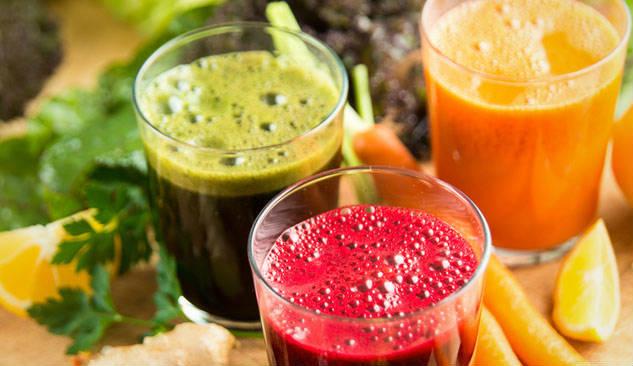 bebidas para la dieta detox