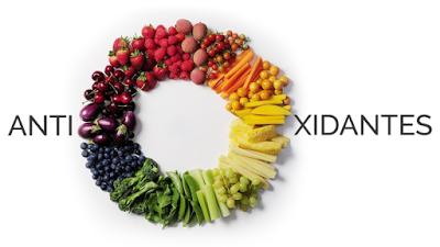 antioxidantes, frutas, vegetales, envejecimiento, beneficios