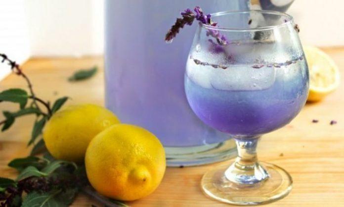 , Anti-ansiedad natural efectivo: agua de lavanda con limón, Alimenta y Cura