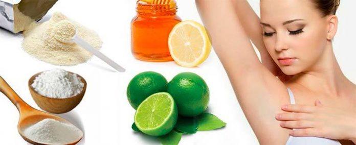 , Extraordinarios remedios para eliminar el mal olor en las axilas, Alimenta y Cura