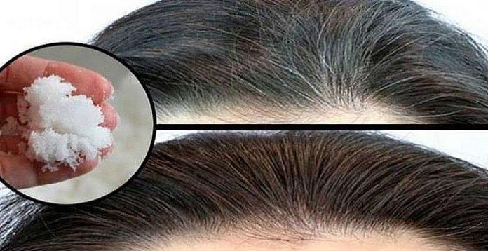 , Dile adiós a las canas y la caída del cabello con este remedio con bicarbonato de sodio!, Alimenta y Cura