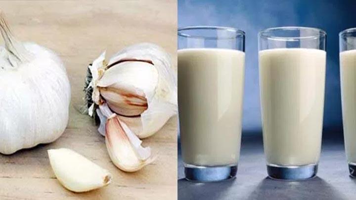 , ¡La leche y el ajo es una cura para el asma, tuberculosis, neumonía, insomnio, problemas de corazón, tos, artritis y mucho más!, Alimenta y Cura, Alimenta y Cura