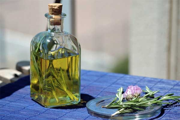 , Pelo suave con aceite de romero Oscurecedor de canas, Alimenta y Cura