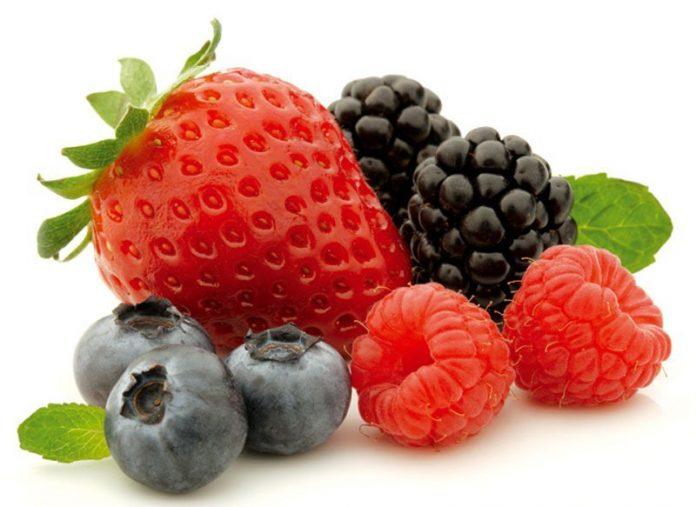 , Batido adelgazante de frutos rojos, desayuno, Alimenta y Cura