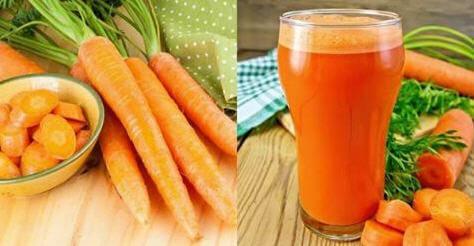 , La fórmula perfecta para una larga vida: Jugo de zanahoria. Así es como debes prepararlo., Alimenta y Cura, Alimenta y Cura
