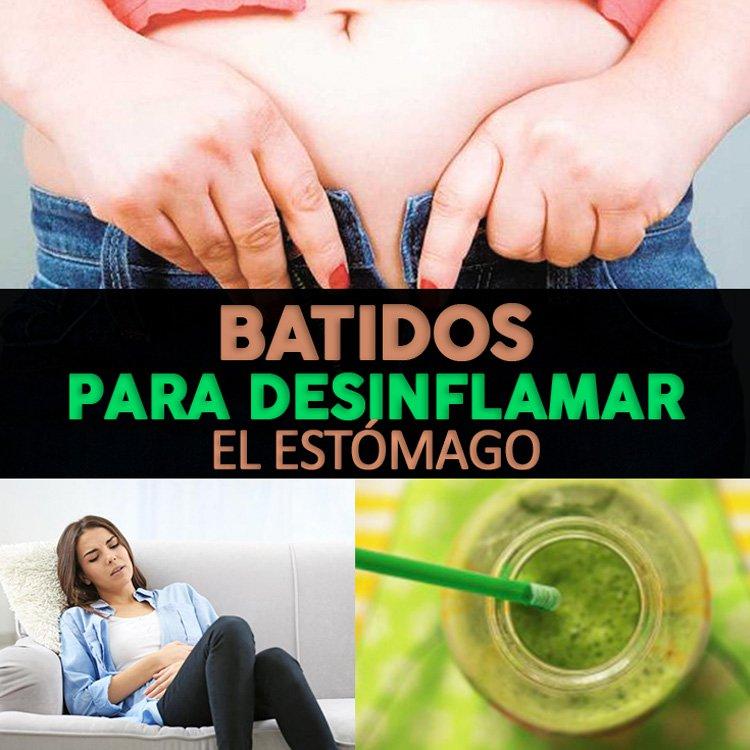 , 5 Licuados Para Desinflamar El Estómago Rápidamente, Alimenta y Cura, Alimenta y Cura