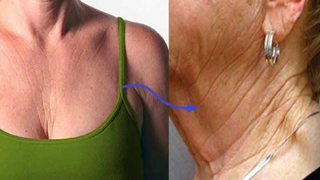 , Con este remedio podrás borrar las arrugas del cuello y pecho y cómo evitar que sigan apareciendo, Alimenta y Cura
