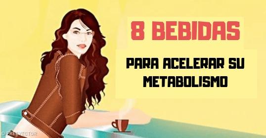 , 8 bebidas que estimulan el metabolismo para tonificar su cuerpo, Alimenta y Cura