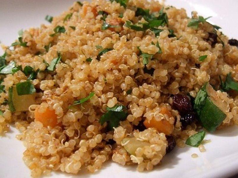 , Receta Vegana de Quinoa, Alimenta y Cura